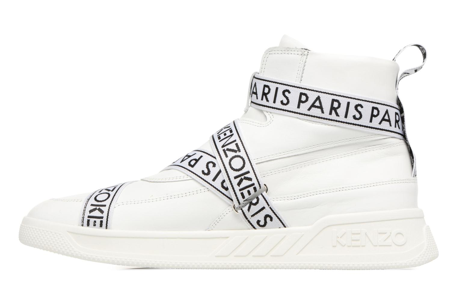 Baskets Kenzo Coby Blanc vue face
