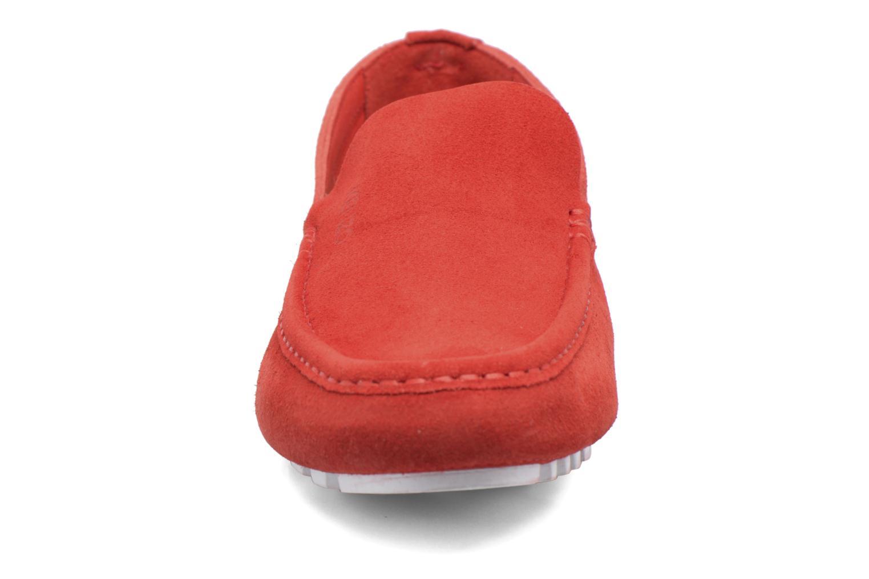 Mocassins Kenzo Lane Rouge vue portées chaussures