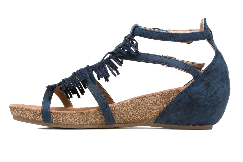 Sandales et nu-pieds Xti Bonu 46557 Bleu vue face