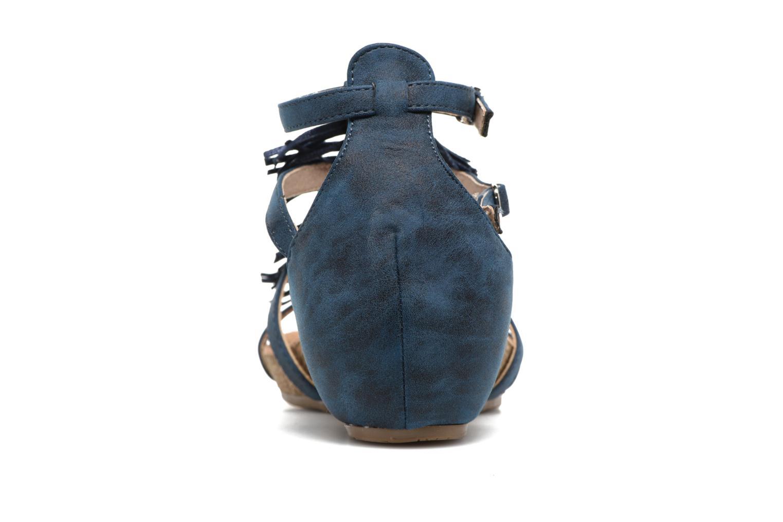 Sandales et nu-pieds Xti Bonu 46557 Bleu vue droite