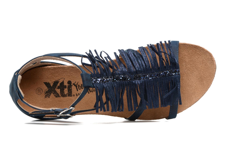 Sandales et nu-pieds Xti Bonu 46557 Bleu vue gauche