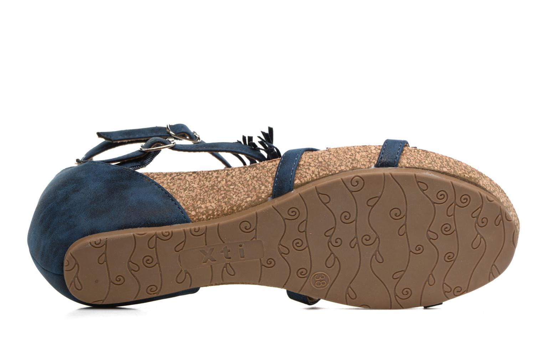 Sandales et nu-pieds Xti Bonu 46557 Bleu vue haut