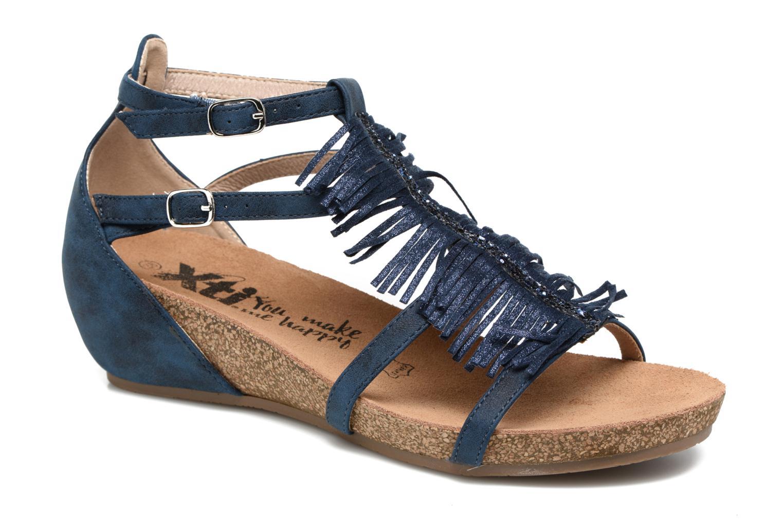 Sandales et nu-pieds Xti Bonu 46557 Bleu vue détail/paire