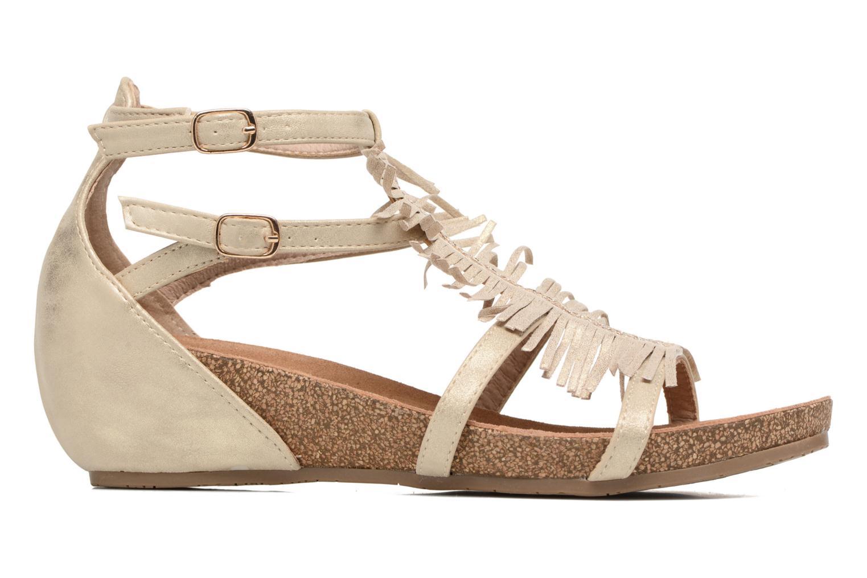 Sandaler Xti Bama 46557 Guld og bronze se bagfra