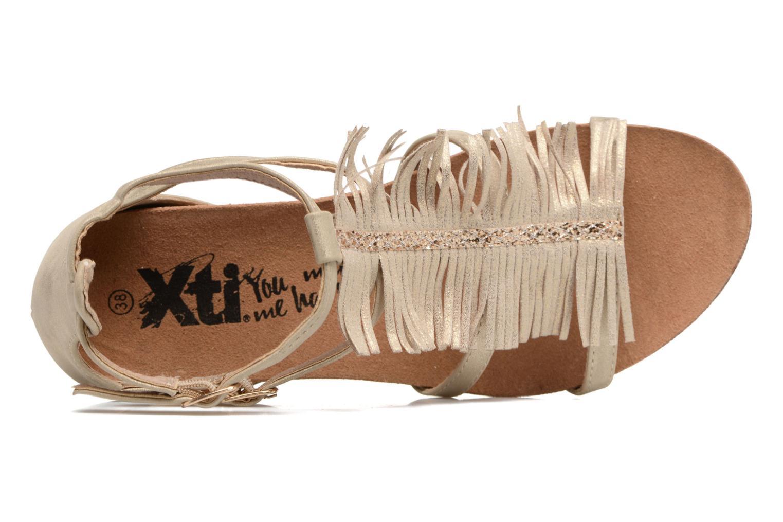 Sandaler Xti Bama 46557 Guld og bronze se fra venstre