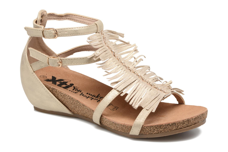 Sandaler Xti Bama 46557 Guld og bronze detaljeret billede af skoene
