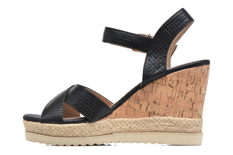 Sandales et nu-pieds Xti Niyl 46586 Noir vue face