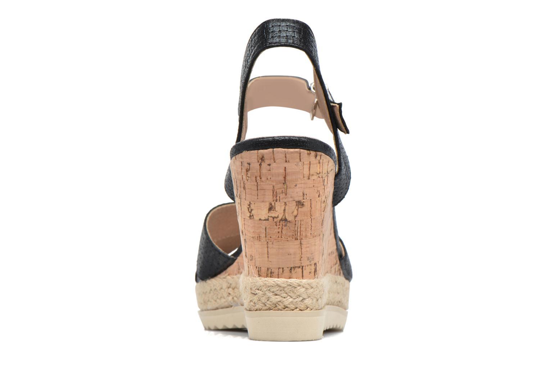 Sandales et nu-pieds Xti Niyl 46586 Noir vue droite