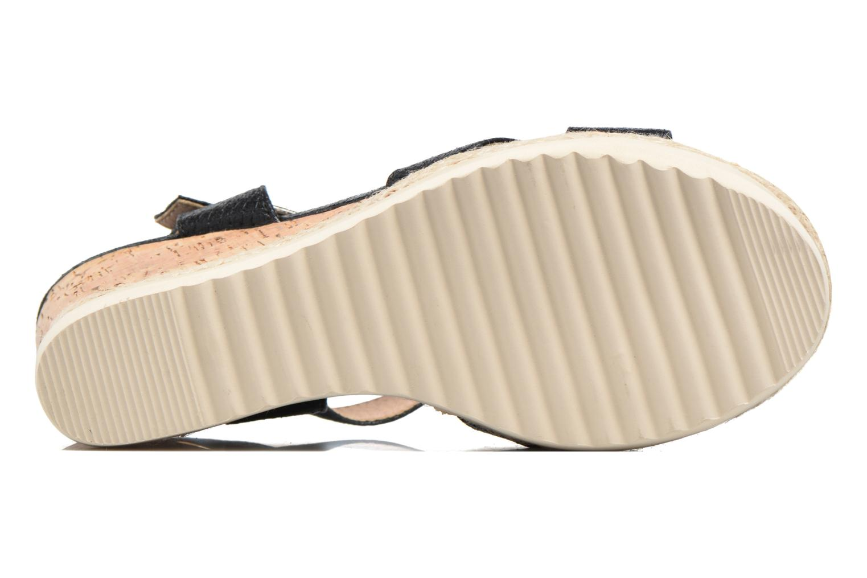 Sandales et nu-pieds Xti Niyl 46586 Noir vue haut