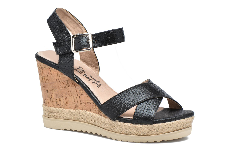 Sandales et nu-pieds Xti Niyl 46586 Noir vue détail/paire