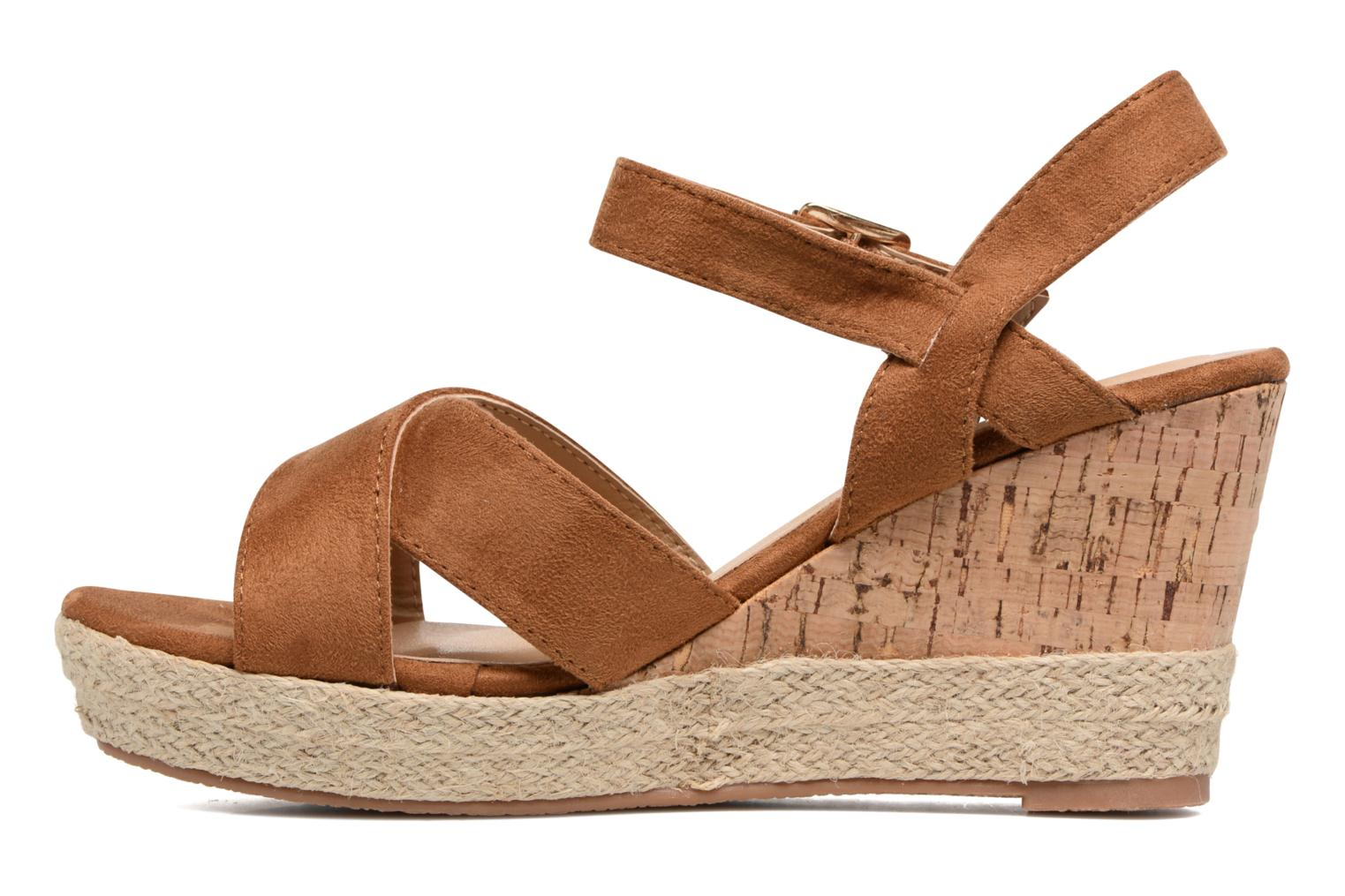 Sandals Xti Issum 33450 Brown front view