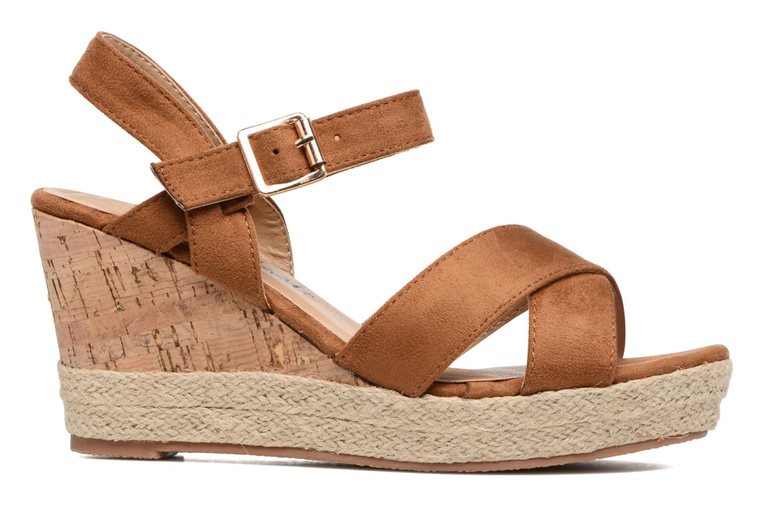 Sandals Xti Issum 33450 Brown back view