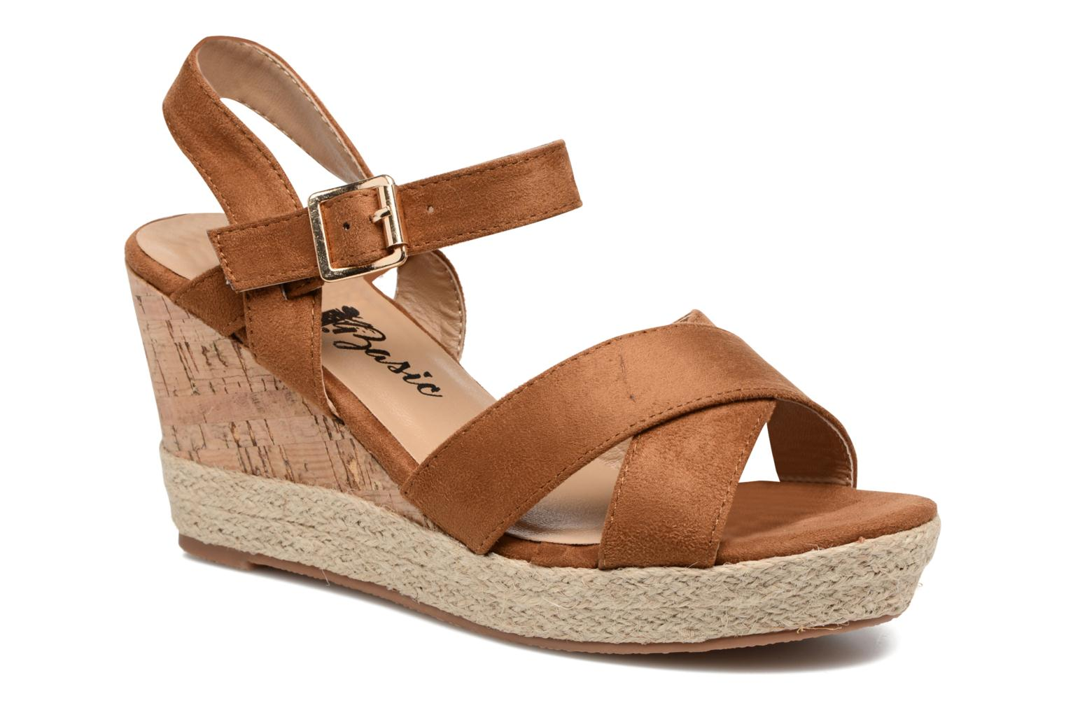 Sandals Xti Issum 33450 Brown detailed view/ Pair view