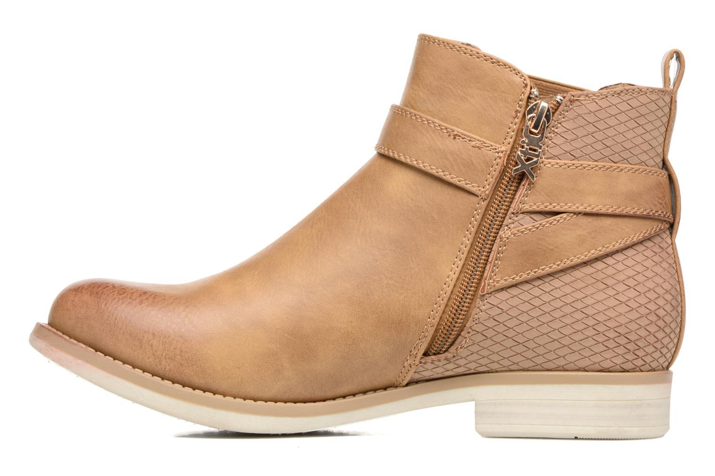 Bottines et boots Xti Yomel 33408 Marron vue face