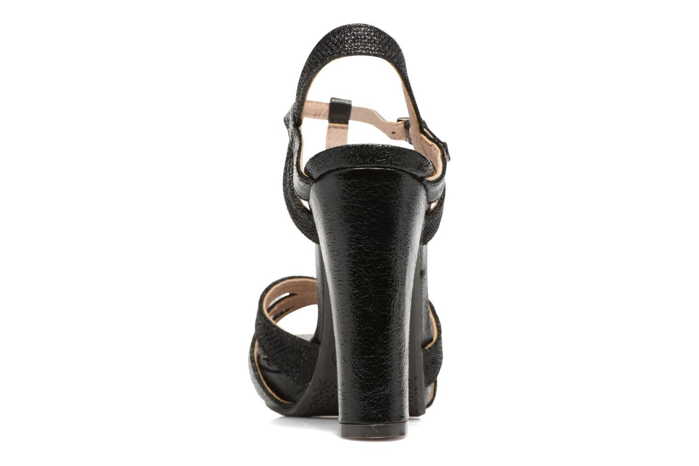 Sandales et nu-pieds Xti Martha 30610 Noir vue droite