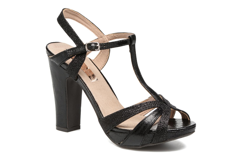 Sandales et nu-pieds Xti Martha 30610 Noir vue détail/paire