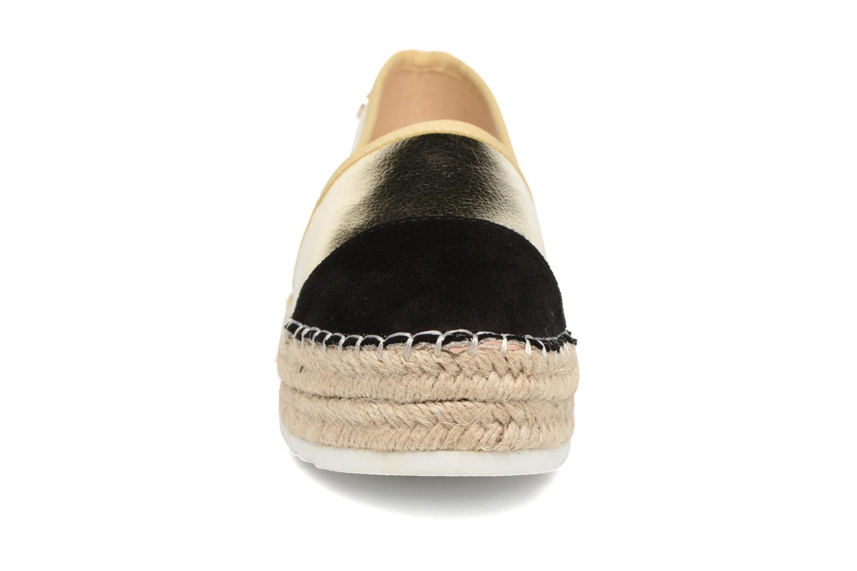 Espadrilles Xti Bwou 30554 Or et bronze vue portées chaussures