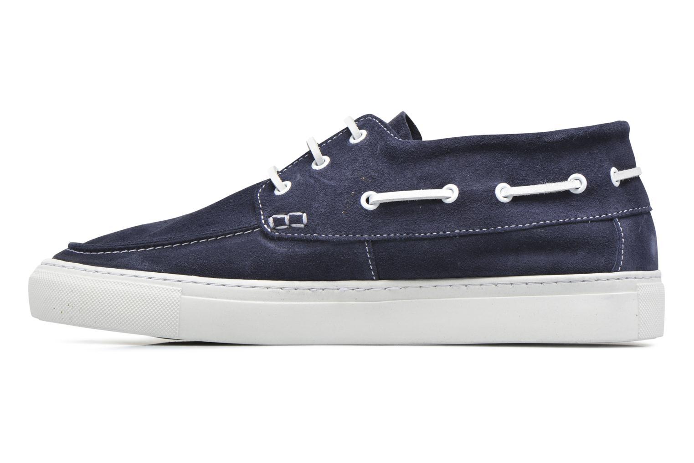 August Hightop Boat Shoe Dark Navy