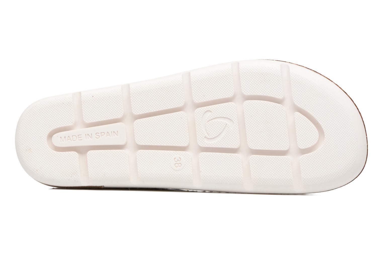 Sandales et nu-pieds Kanna Doha Noir vue haut