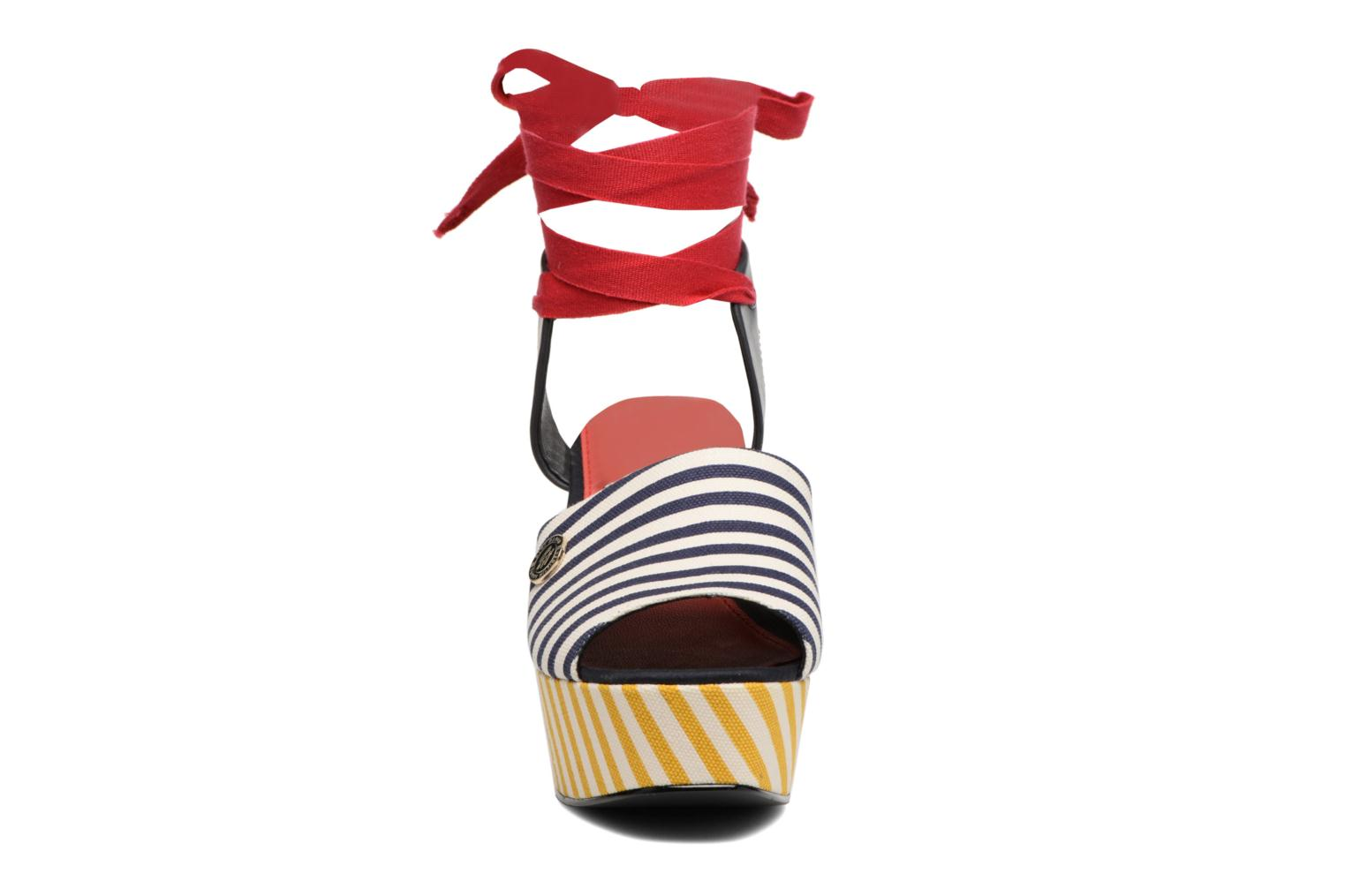 Gigi Hadid Stripey Wedge RWB