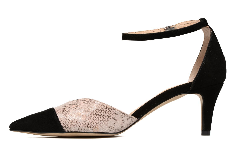 Zapatos de tacón Perlato Miros Negro vista de frente