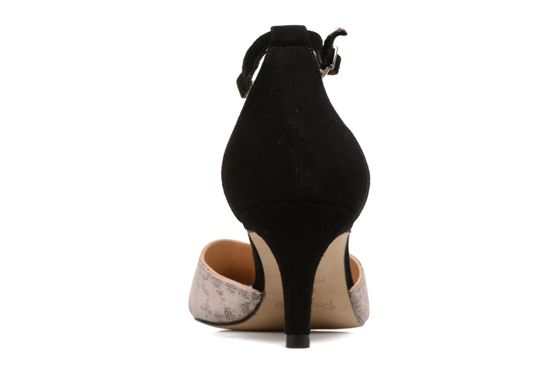 Zapatos de tacón Perlato Miros Negro vista lateral derecha