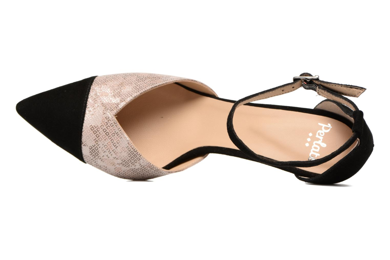 Zapatos de tacón Perlato Miros Negro vista lateral izquierda