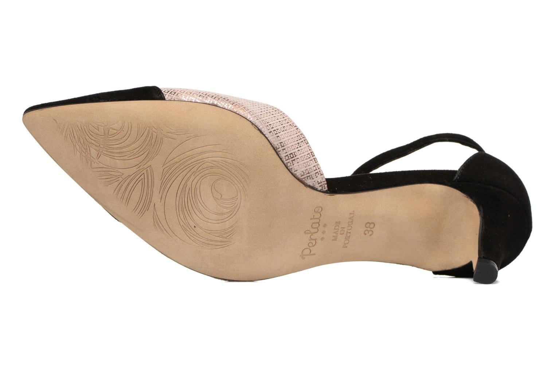 Zapatos de tacón Perlato Miros Negro vista de arriba