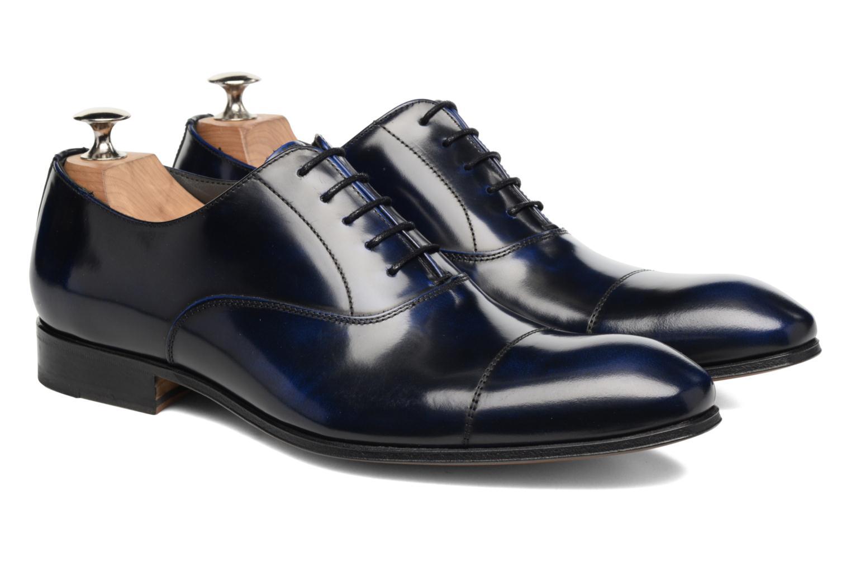 Snörade skor Marvin&Co Luxe Parado Blå 3/4 bild