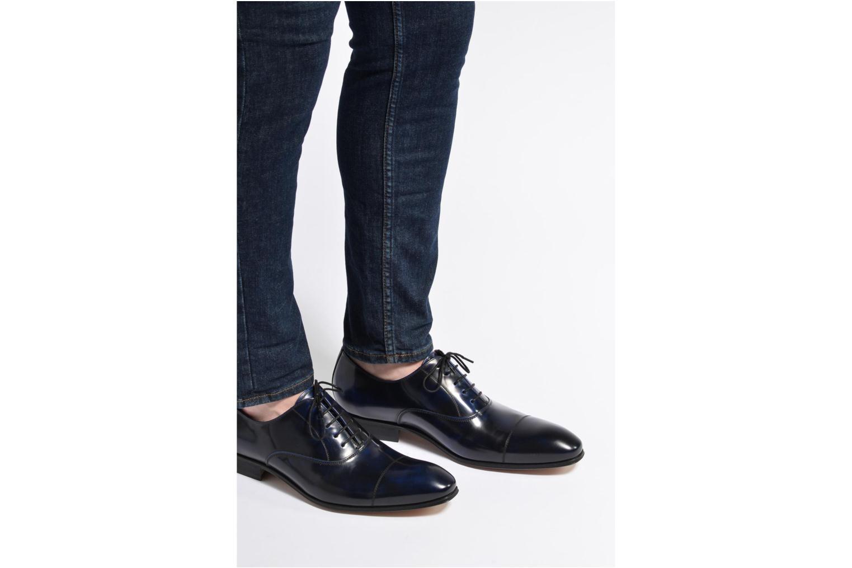 Snörade skor Marvin&Co Luxe Parado - Cousu Blake Blå bild från under