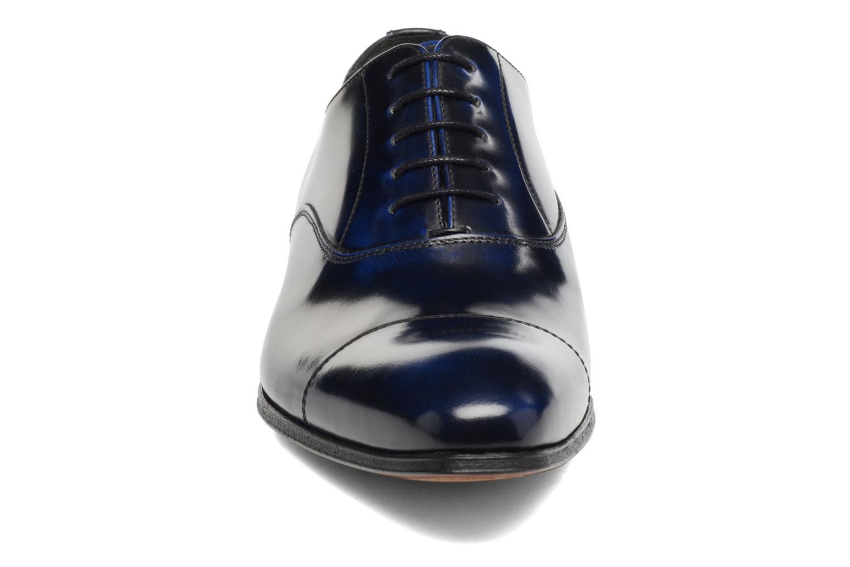 Snörade skor Marvin&Co Luxe Parado - Cousu Blake Blå bild av skorna på
