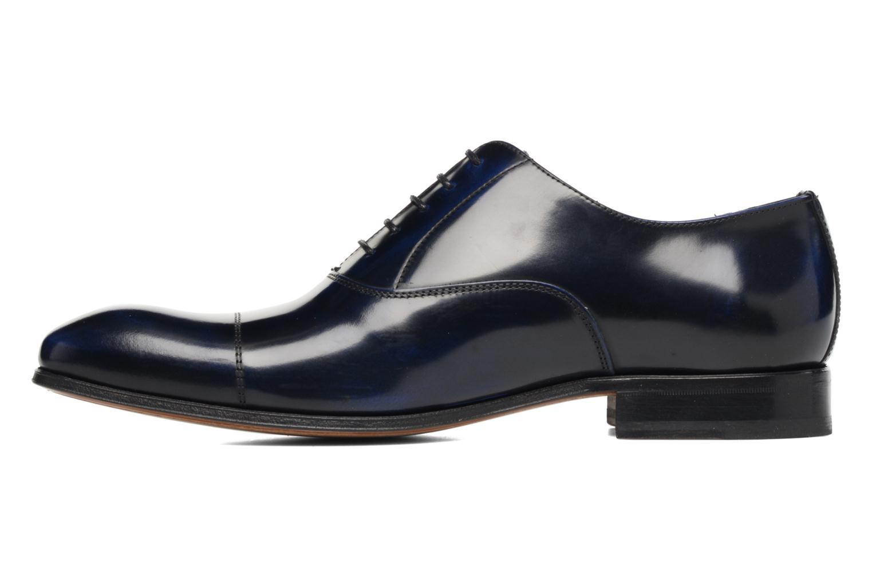 Snörade skor Marvin&Co Luxe Parado - Cousu Blake Blå bild från framsidan