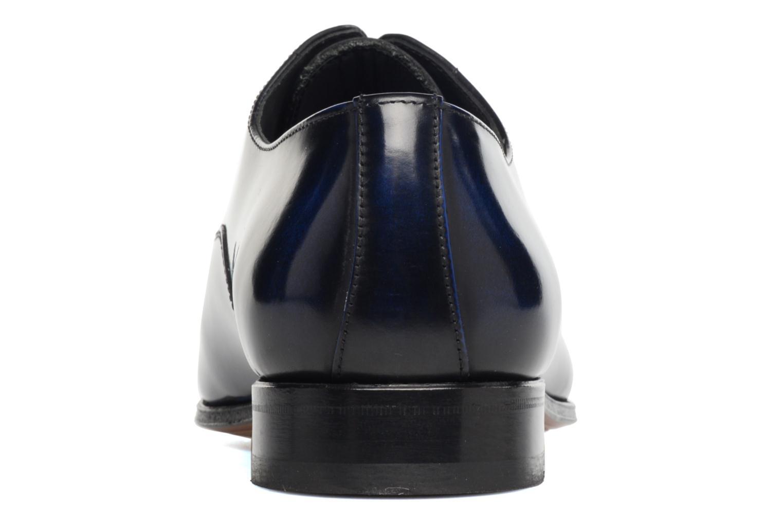 Snörade skor Marvin&Co Luxe Parado - Cousu Blake Blå Bild från höger sidan