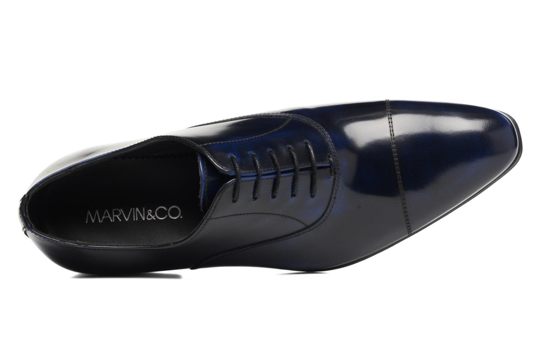 Snörade skor Marvin&Co Luxe Parado Blå bild från vänster sidan