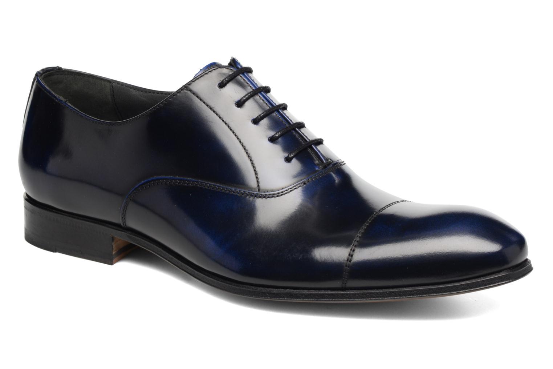 Snörade skor Marvin&Co Luxe Parado - Cousu Blake Blå detaljerad bild på paret