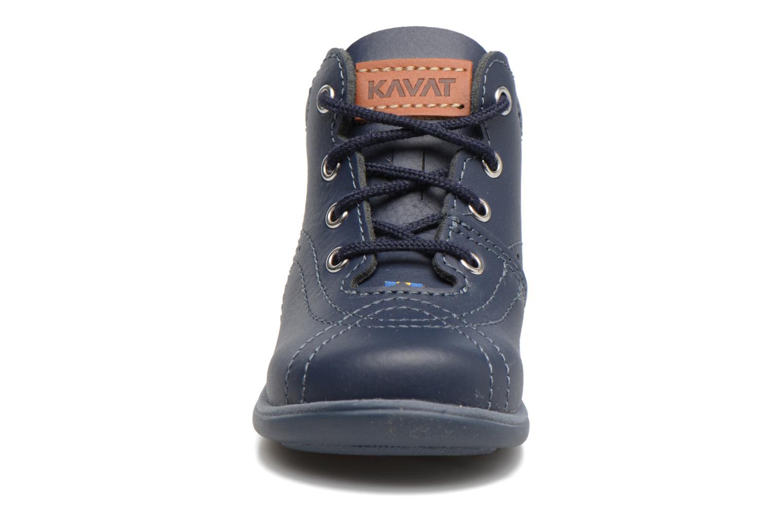 Chaussures à lacets Kavat Edsbro XC Bleu vue portées chaussures