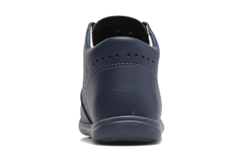 Chaussures à lacets Kavat Edsbro XC Bleu vue droite