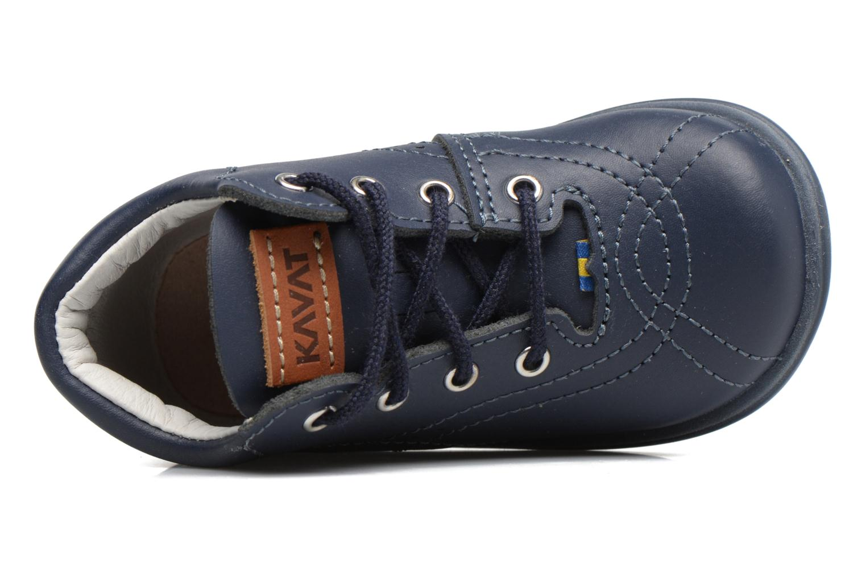 Chaussures à lacets Kavat Edsbro XC Bleu vue gauche