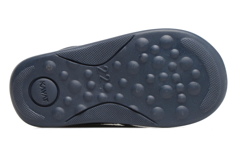 Chaussures à lacets Kavat Edsbro XC Bleu vue haut