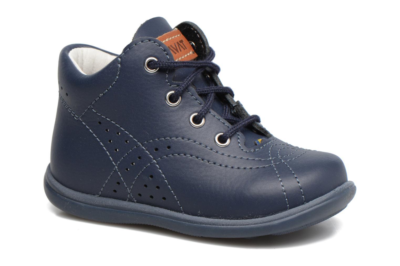 Chaussures à lacets Kavat Edsbro XC Bleu vue détail/paire