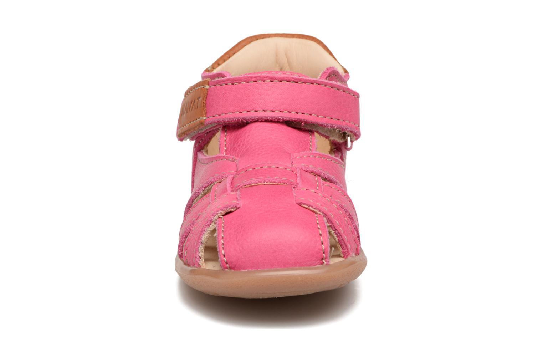 Sandales et nu-pieds Kavat Rullsand EP Rose vue portées chaussures