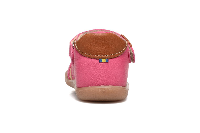 Sandales et nu-pieds Kavat Rullsand EP Rose vue droite