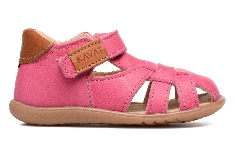 Sandales et nu-pieds Kavat Rullsand EP Rose vue derrière