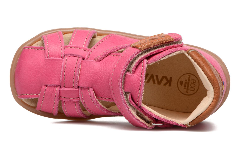 Sandales et nu-pieds Kavat Rullsand EP Rose vue gauche