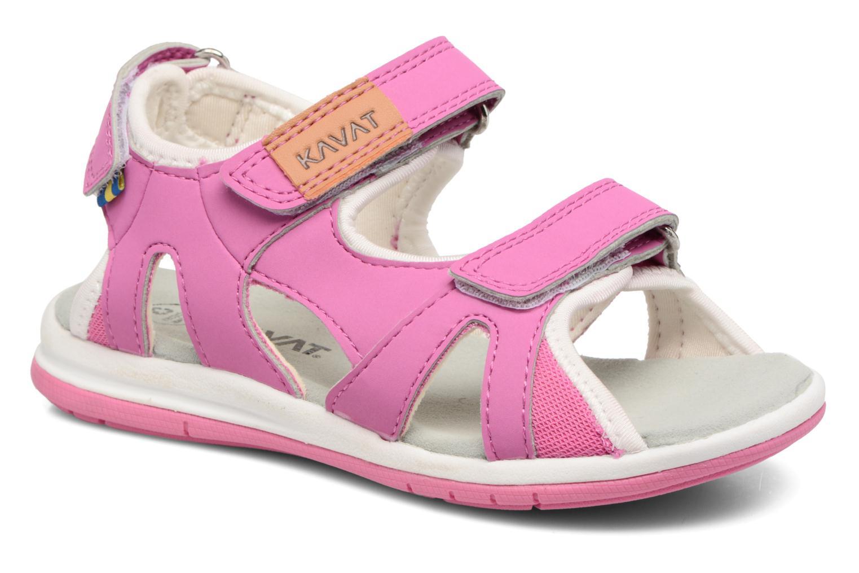 Sandales et nu-pieds Kavat Torsby Rose vue détail/paire