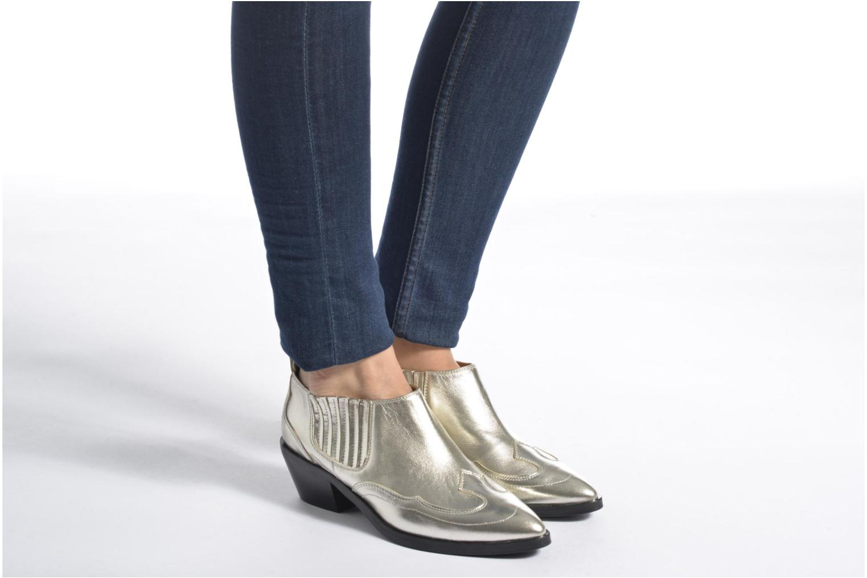 Bottines et boots Made by SARENZA Rock-a-hula #2 Argent vue bas / vue portée sac