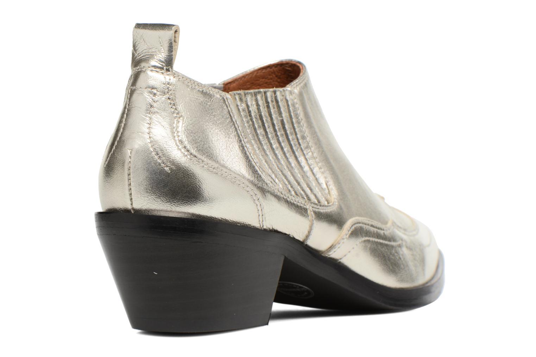 Ankelstøvler Made by SARENZA Rock-a-hula #2 Sølv se forfra