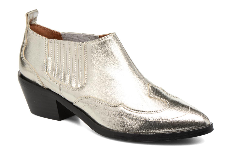Ankelstøvler Made by SARENZA Rock-a-hula #2 Sølv Se fra højre