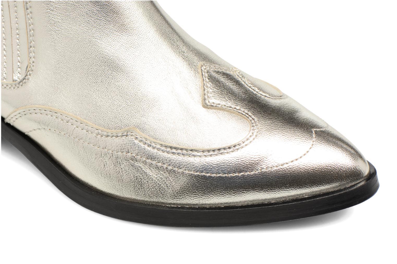 Ankelstøvler Made by SARENZA Rock-a-hula #2 Sølv se fra venstre