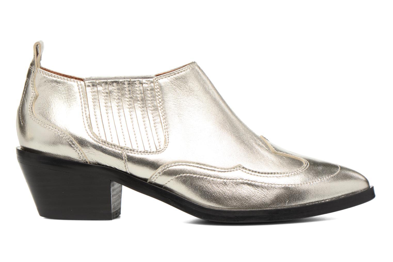 Ankelstøvler Made by SARENZA Rock-a-hula #2 Sølv detaljeret billede af skoene